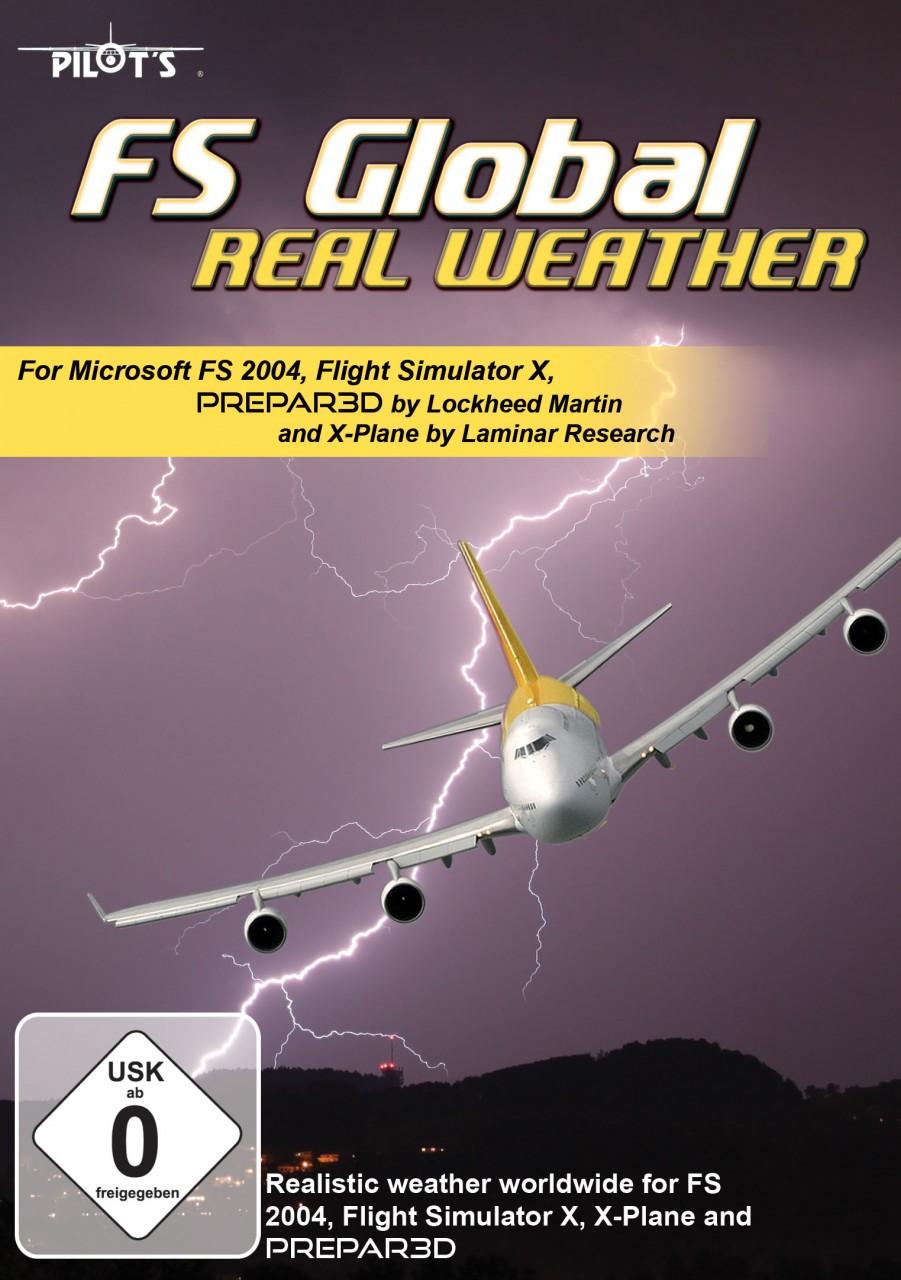 FS Global Real Weather (FS9/FSX/FSX:SE/P3Dv1-3/XP10