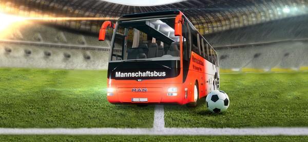 fussballmannschaftsbus