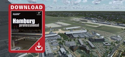 German Airports - Hamburg professional pour Prepar3D V4