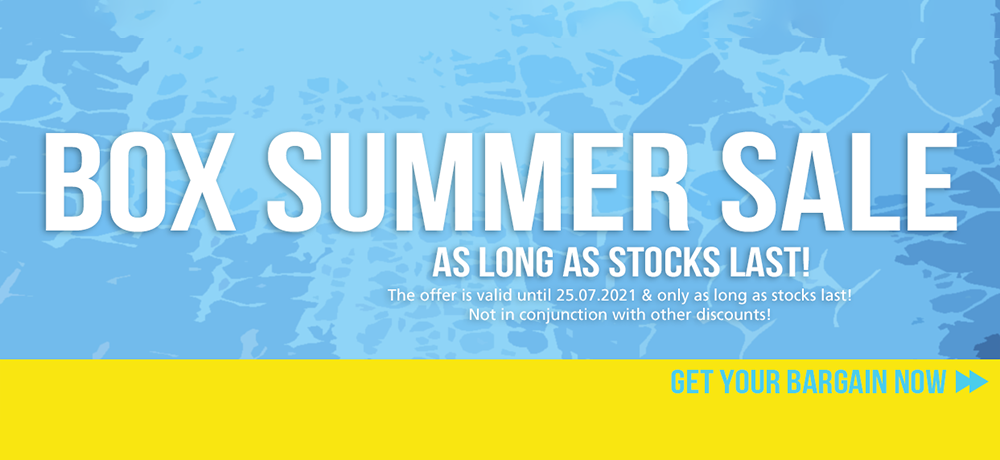 Box Summer Sale - Your chance!