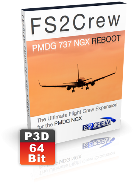 FS2Crew: PMDG 737 NGX Reboot - Voice and Button Control (P3D V4