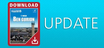 Mega Airport Ben Gurion | Update 1.0.3.0