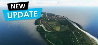 MSFS DLC Aerosoft Airfields East Frisian Islands | Update
