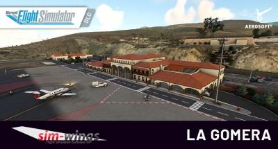 sim-wings La Gomera | MSFS DLC