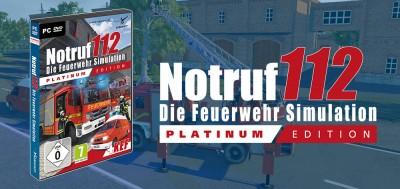 Notruf 112 - Die Feuerwehr Simulation - Platinum Edition