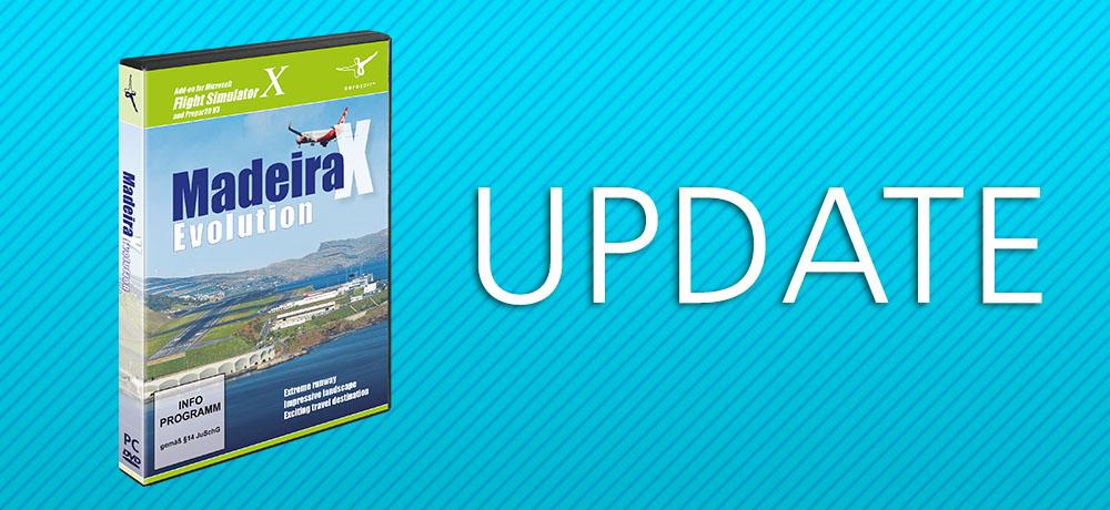 Update: Madeira X Evolution V1 05 | News | Flight Simulation