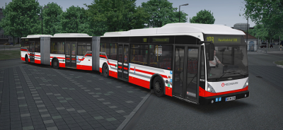OMSI 2 Add-on Bi-articulated Bus AGG 300 - Maintenant disponible!