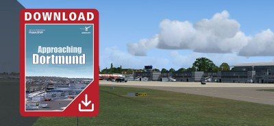Approaching Dortmund for Prepar3D V4