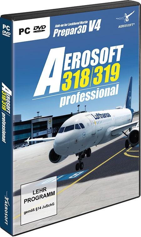 Aerosoft A318/A319 professional | Aerosoft Shop