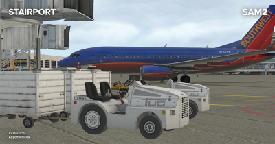 COMING SOON | SAM AirportVehicles (XPlane)