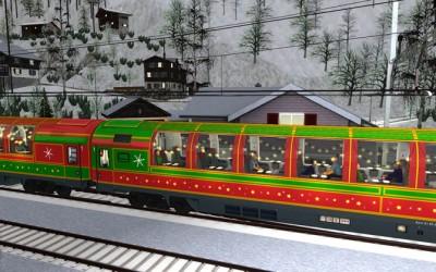 Free Christmas Train from SimTrain.ch