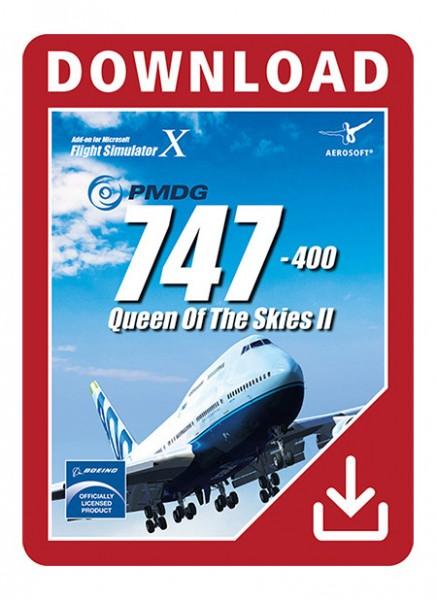 PMDG 747-400 V3 Queen of the Skies II for FSX | Aerosoft Shop