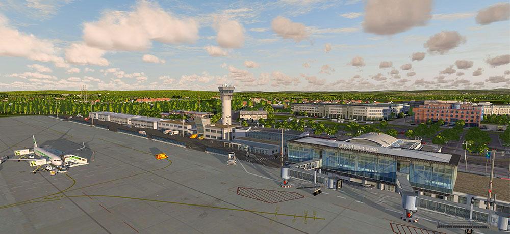 Airport Erfurt for Prepar3D V4 | News | Flight Simulation