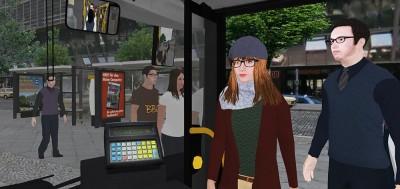 Neue KI-Menschen für den Omnibussimulator 2
