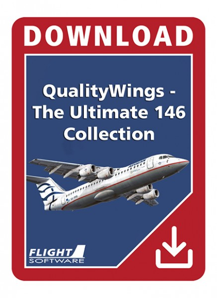 QualityWings - The Ultimate 146 Collection (FSX) | Aerosoft Shop