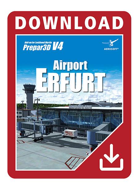 Airport Erfurt for P3D V4 | Aerosoft Shop