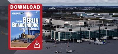 Mega Airport Berlin-Brandenburg professional for Prepar3D