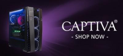 Neue Gaming PCs von Captiva