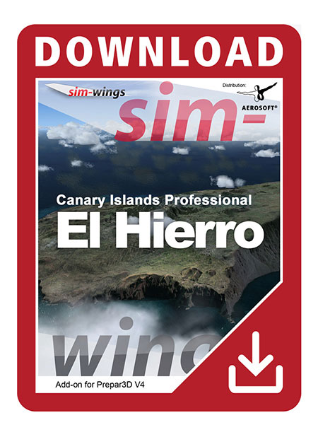 Canary Islands professional - El Hierro | Aerosoft Shop