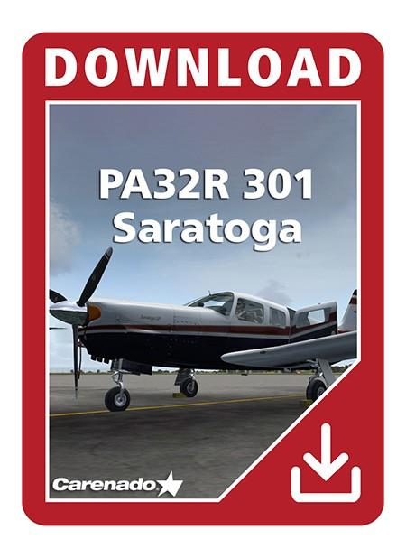 Carenado - PA32R 301 Saratoga (FSX) | Aerosoft Shop