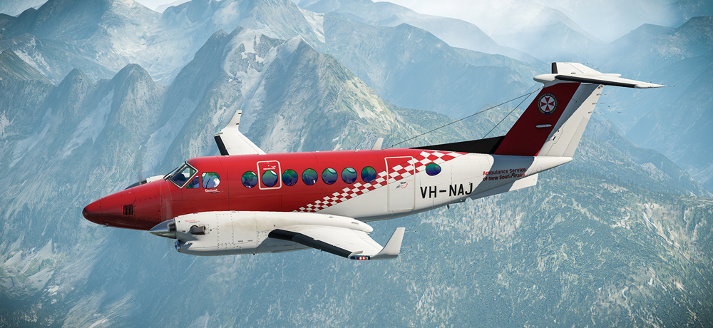 Available now: King Air 350 for XPlane 11 | News | Flight