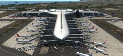 Mega Airport Barcelona Evolution für FSX & FSX:SE
