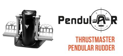 TPR Pendular Rudder von Thrustmaster