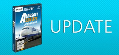 Aerosoft A320/A321 professional  | Update