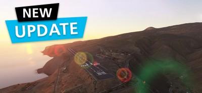 MSFS DLC sim-wings La Gomera | Update