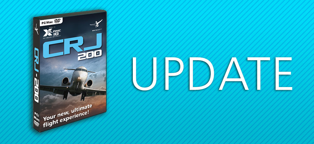 XP CRJ-200 - Update 1 7 2   News   Flight Simulation