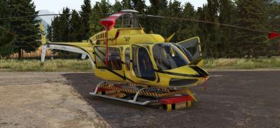 Disponible maintenant : XP11 Bell 407