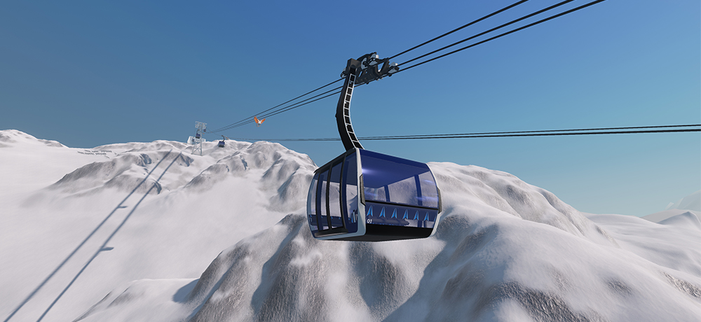 winter resort simulator news simulation games. Black Bedroom Furniture Sets. Home Design Ideas