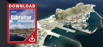 Gibraltar professional para Prepar3D V4