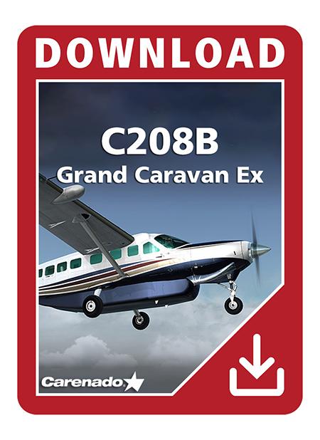 Carenado - C208B Grand Caravan Ex - HD Series | Aerosoft Shop