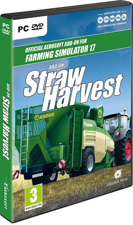 Farming Simulator 17 Add-on Straw Harvest | Aerosoft Shop