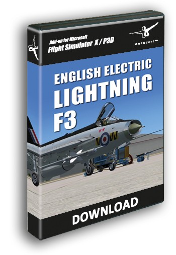 English Electric Lightning F3 X   Aerosoft Shop