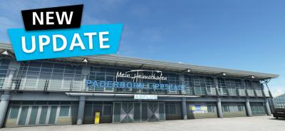 MSFS DLC Aerosoft Airport Paderborn/Lippstadt | Update