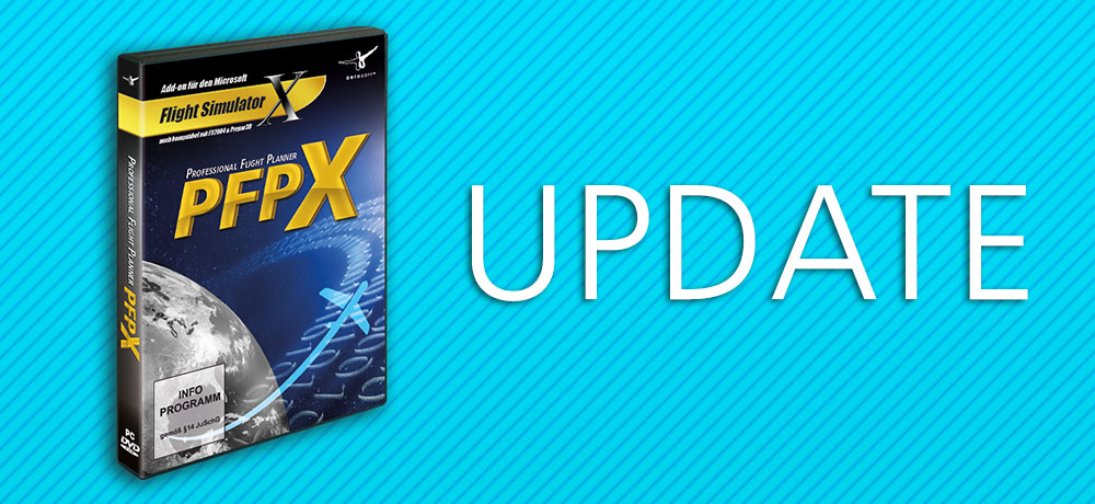 Professional Flight Planner X - Update 2 03 | News | Flight