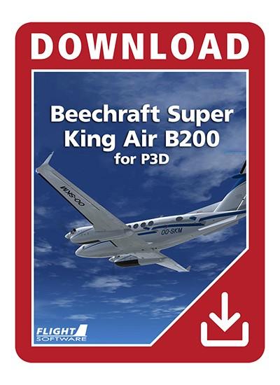 Beechcraft Super King Air B200 for P3D | Aerosoft US Shop