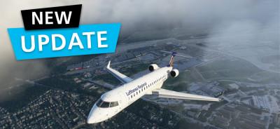MSFS DLC Aerosoft Aircraft CRJ 550/700 | Update