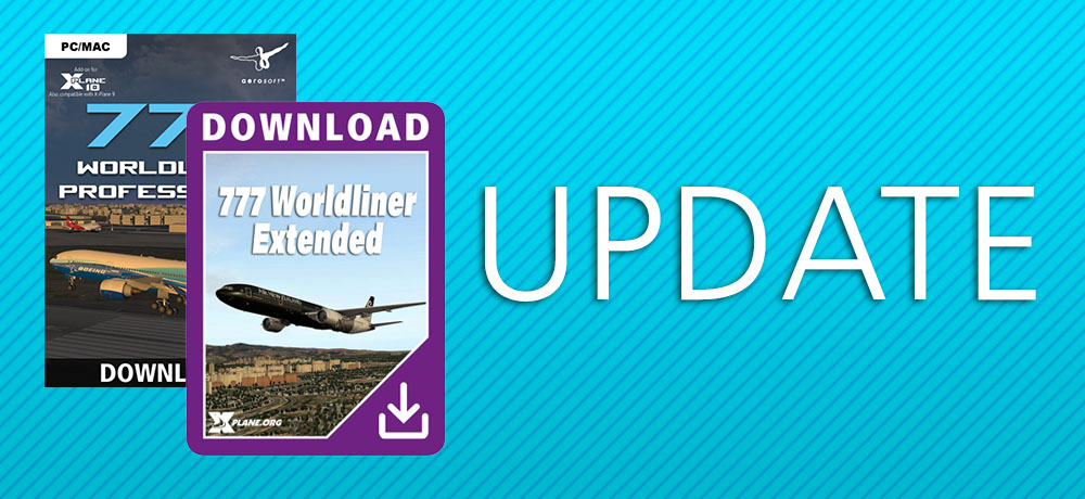 Boeing 777 worldliner professional now available.