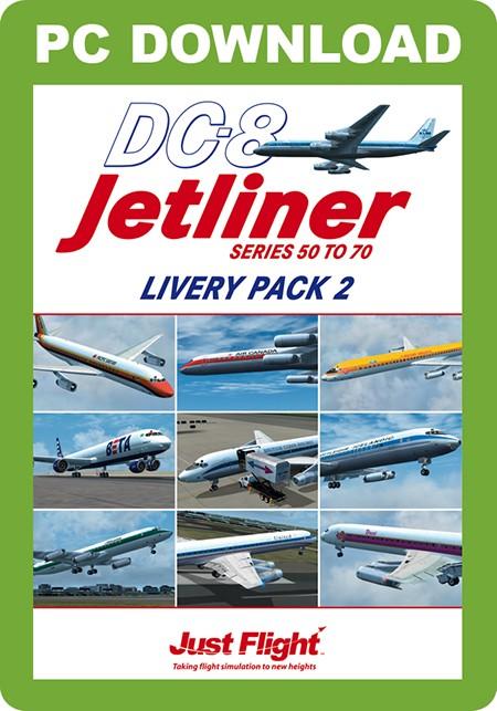 DC-8 Jetliner 50-70 Livery Pack 2 | Aerosoft Shop