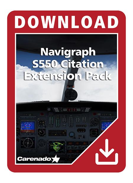 Carenado - Navigraph S550 Citation - Extension Pack | Aerosoft Shop