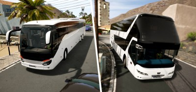 Neoplan Skyliner & ComfortClass HD para Tourist Bus Simulator