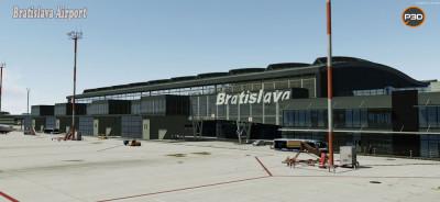 Bratislava M. R. Stefanik Airport P3D