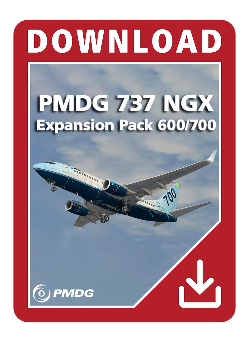 PMDG 737 NGX Expansion Pack 600/700 for P3D V4   Aerosoft Shop