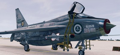 English Electric Lightning T5
