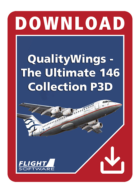 QualityWings - The Ultimate 146 Collection (P3D V4) | Aerosoft Shop