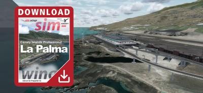 Sim-wings - Canary Islands professional - La Palma für Prepar3D V4