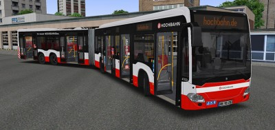 "OMSI 2 Add-on ""Hamburg Buses"""